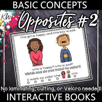 Opposites Interactive Book (Basic Concepts Series)