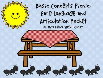 Basic Concepts Picnic: Early Language and Articulation Packet