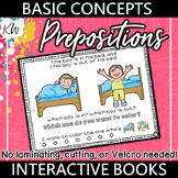 Prepositions Speech Therapy Interactive Book (Basic Concep