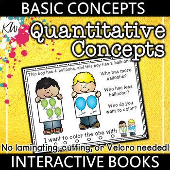 Quantitative Concepts Speech Therapy Interactive Book (Basic Concepts Series)