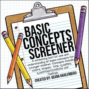 Basic Concepts {Screener}