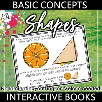 Shapes Interactive Book - Basic Concepts