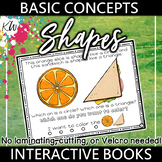 Speech Therapy: Language Therapy Interactive Book (Shapes) Basic Concepts Series