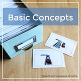 Basic Concepts - Speech and Language Photo Cards