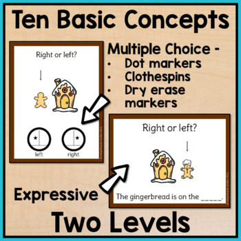 Christmas Task Cards: Basic Concepts for Special Education and Autism