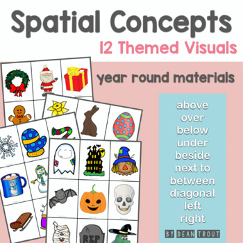 Basic Concepts Through the Year for Speech Therapy