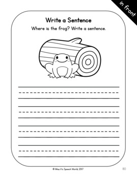 Basic Concepts Workbook - Interactive Printables - Basic Concepts Speech Therapy