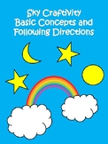 Basic Concepts and Following Directions Craftivity