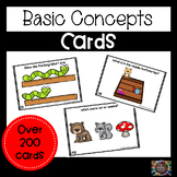 Basic Concepts for Speech Language Therapy Bundle