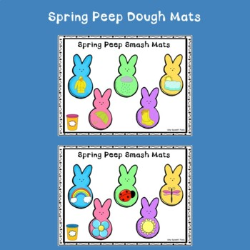 Basic Concepts for Speech Therapy with Spring Peeps