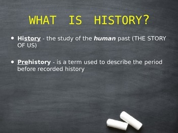 Basic Concepts of History