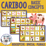 Cariboo Basic Concepts: Descriptives, Plurals, Spatial, Speech Therapy