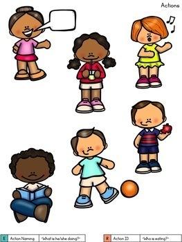 Preschool Language Binder: Targets Early Expressive and Receptive Skills