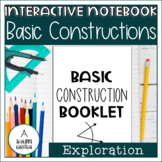 Basic Construction Booklet Notes Foldable
