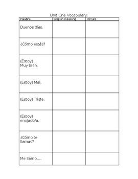 Basic Conversational Phrases in Spanish