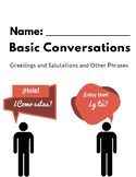 Basic Conversations Packet