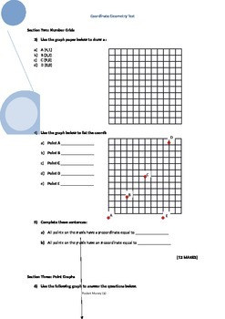 Basic Coordinate Geometry Test