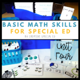 Basic Daily Math Curriculum for Special Education Unit Four