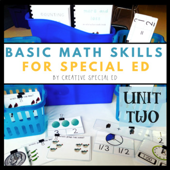 Basic Daily Math Curriculum for Special Education: Unit Two
