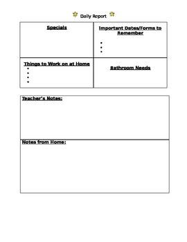 Basic Daily Sheet