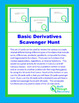 Basic Derivatives Scavenger Hunt
