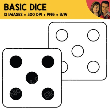 FREE Dice Clipart
