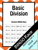 Basic Division BINGO Race