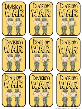 Basic Facts War: Division