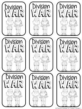 Division War Card Game