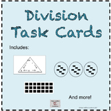 Basic Division Concepts Task Cards 3rd grade