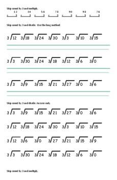 Short Division Worksheets Teaching Resources Tpt Bus stop method long division worksheet