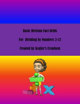 Basic Division Fact Drills