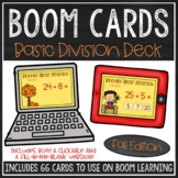 Basic Division Facts BOOM Cards™ (Fall Edition)