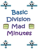 Basic Division Mad Minutes Set