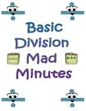 Basic Division Mad Minutes Set
