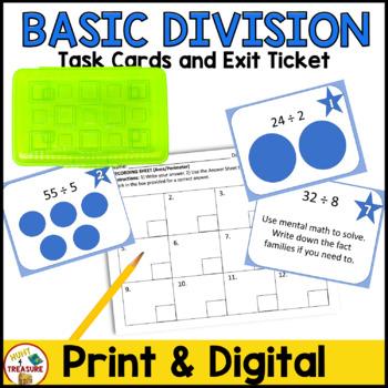 Basic Division Task Cards