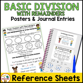 Basic Division with Remainders Poster