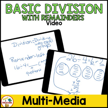 Basic Division with Remainders Video