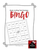 Basic Drama Terminology Bingo