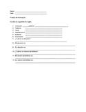 Basic ESL information Quiz
