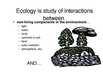 Basic Ecology & Ecosystems