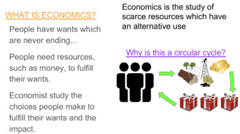 Basic Economic Concepts - Scarcity, Choice & Opportunity Cost