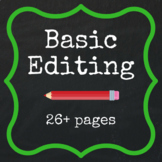Basic Editing - 26+ pages FREE QUOTE