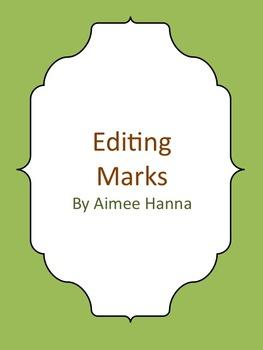 Basic Editing Marks - Primary
