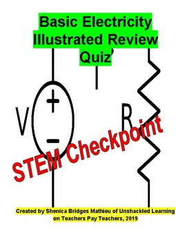 Basic Electricity Review Quiz: STEM Checkpoint (free for a limited time)