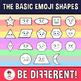 Emoji Shapes Clipart