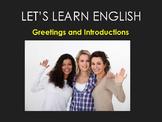 ESL Newcomer Activity   PowerPoint