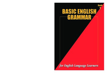 Basic English Grammar Workbook #1 (158 pages)