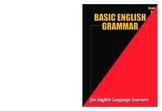 Basic English Grammar Workbook #1 (158 pages)