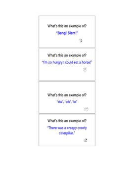 Basic English Language Technique Flash Cards